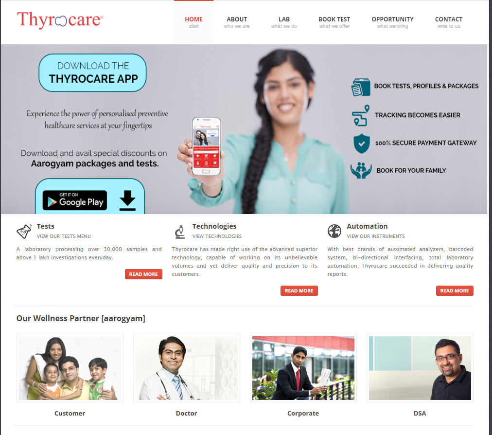 Thyrocare review