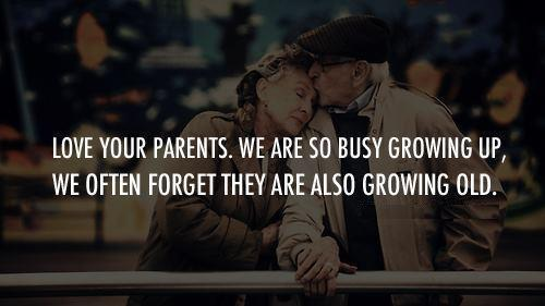 when parents grow old