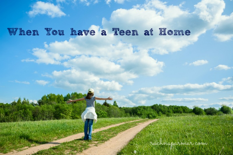 teen at home