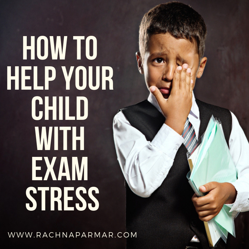 help child exam stress